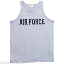 Heather Grey US AIR FORCE BRANCH IMPRINTED TANK TOP - USAF, Physical Training