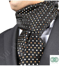 New Mens Formal Smart Scarves Twin Silk Cashmere Italian Designer Winter Scarf