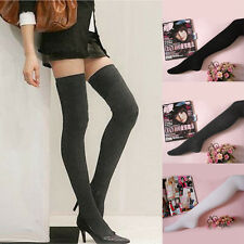 Fashion Long Socks Thigh High Cotton Stockings Over Knee Hose Trendy Sexy