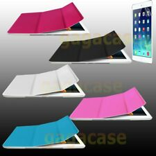 iPad Air iPad 5 Smart Stand Cover Folio Case w/ Frost Back+ Screen Protector