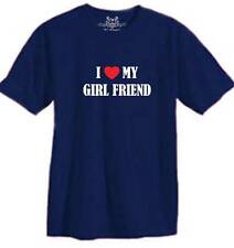 """New BOY MEN'S PRINTED """"I LOVE MY GIRL FRIEND"""" FUNNY T-shirt ALL SIZE"""