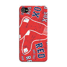New Boston Red Sox iPhone 4 i Phone Apple 4S Case Hard Plastic Cover Protective