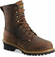 Carolina Men Boots Waterproof Insulated Logger Steel Toe ,Leather, Work & Safety