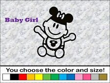 Disney Baby Girl Daughter Family Sticker Vinyl Decal Car Stick People Mickey Ear