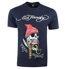 Ed Hardy 'Free Agent' Graphic T-Shirt - The New Collection