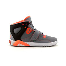 Mens adidas Roundhouse Athletic Shoe Gray/Orange fashion sneakers AUTHENTIC NEW