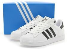 ADIDAS SUPERSTAR II Men Sneakers G17068 White/Black Sz8-13 Fast Shipping