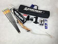 Junior Archery Wooden Training Recurve Bow Pack 54""