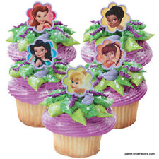 Tinkerbell Fairies CupCake Cake Topper 12 18 24 Favors Decoration Birthday Treat