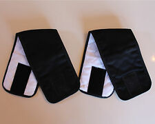 2 Pack Male BLACK Dog Diaper Belly Band Wrap 2XL to 7XL