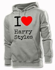 I LOVE HARRY STYLES ONE DIRECTION S-XXL HOODIE LOUIS ZAYN LIAM NIALL MUSIC BAND
