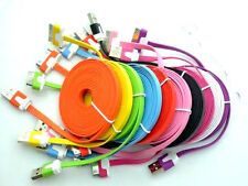 LONG 3M 10FT FLAT USB Data CHARGING CABLE CORD for iPHONE 4S 4 3G IPOD TOUCH 4