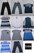 KIDS CHILDRENS TODDLERS INFANTS BOYS DESIGNER FRENCH CONNECTION JEANS POLO TOP