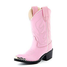 Old West Girl's Pink Western Boots VJ9119