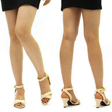Ankle Strap Sandals Mid Heel Womens Handmade Shoes B, M 190 Skin Pink