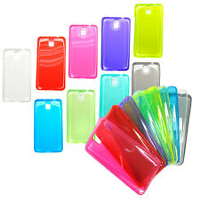 TPU case Protect skin for Samsung note3 N9000 9005 9002 Crystal Jelly LOT