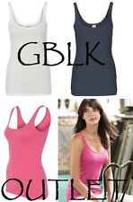 Alternative Apparel Ladies Tank Top 1x1 Baby Rib 12117 S-XL CLOSEOUT