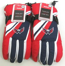 NHL Washington Capitals Multi-Color Ski Type Gloves By Reebok