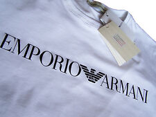 EMPORIO ARMANI Men's T-shirt in White - Size M L XL-Slim Fit