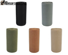 5Colors Airsoft Tactical Military Hook Tape 11cm x 1m Black A