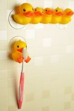 B.Duck Yellow Rubber Duck Recyle Cute Toothbrush Holder Home Bathroom (2 Style)