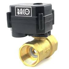 "1/2"" & 1"" DC12V CR-02 Motorized Ball Valve,NPT Thread Electrical Ball Valve"