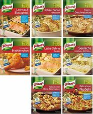 German KNORR FIX - For Poultry , Asia , Fish - 4 bags - SHIPPING FREE