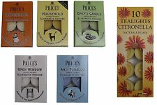 Prices Candles Fresh Air Range Scented Tealights Eliminates Odours & Citronella