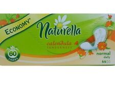 Cottons Sanitary Pads panty liners 60 Hypo-allergenic  Natural daily NATURELLA