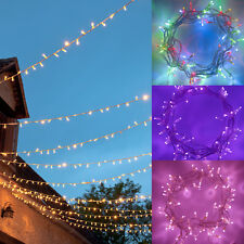 24m 40m 64m Connectable Indoor/Outdoor Connectable LED Xmas Fairy Lights 24v