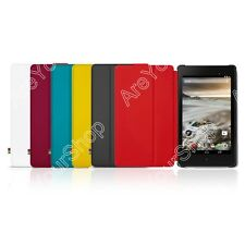 Stand Genuine Leather Smart Google Cover Case FOR Asus Nexus 7 2013 2nd Colorful