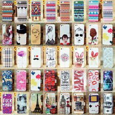 New 70 Style PC Hard Pattern Skin Case Cover Back for Apple iPhone 5 5G 5S