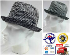 KANGOL Jacquard Player Trilby Hat K0242CO Tropic Fedora Style with Brim New