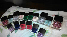 Icing~by~Claire's~Nail~Polish~Glitter~Pink~Blue~Silver~Green~Purple~NEW~BONUS!!!