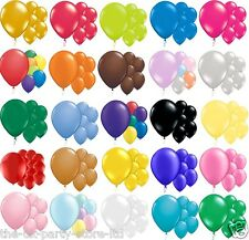 LATEX BALLOONS 12inch All Colours High Quality Packs Choose your amount