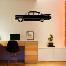 CLASSIC CAR wall sticker vintage bedroom stickers decal vinyl boys cars
