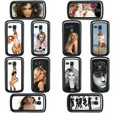 Celebrity Singers Musicians Artists Case Covers for Samsung Galaxy S3 & S4 Mini