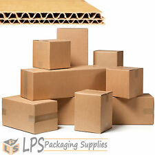 """12"""" x 9"""" x 9"""", 6"""", 4"""" Multi Depth Double Wall Packaging Box Cardboard Mail Boxes"""