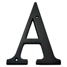 3 Inch Solid Brass House Letters in Dark Oil Bronze Finish House Letter A-Z
