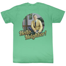 MISTER ROGERS NEIGHBORHOOD Hello T-Shirt **NEW Mr. TV Television Show