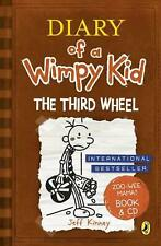 NEW Diary of a Wimpy Kid: The Third Wheel by Jeff Kinney Hardcover Book Free Shi