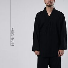 Nakali Chinese Style Mens Womens Suit Kung Fu Hanfu Tai Chi Zen Clothes Spring