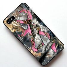 New Camo Tree Pink Pattern 2 in 1 Case Cover, Case , for Apple Iphone 4 4S 5 5S