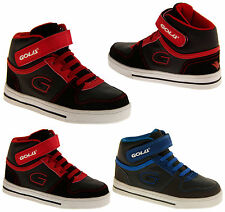 Boys Kids GOLA Hi-Tops High Tops Lace Up Fashion Trendy On Trend Cool Trainers