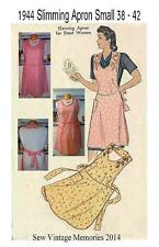 New Pellon Pattern 1944 Slimming Apron for Stout Women Small or Large