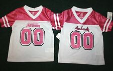 NEW Toddler Girls White/Pink NFL Jersey Chargers, Lions, Jaguars, or Seahawks
