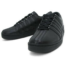 K Swiss All Black Classic Luxury Edition Mens Shoes Sneakers Sizes 6.5 - 13