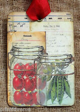 Hang Tags  MASON JAR CANNED VEGETABLES TAGS #130  Gift Tags