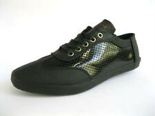 MENS TWISTED FAITH LACE UP URBAN CASUAL FASHION TRAINER SHOES P77