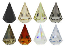 GENUINE SWAROVSKI 6022 XIRIUS Raindrop Pendant - All Sizes & All Colors